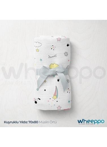 Wheeppo Kuyruklu Yıldız  Müslin Örtü  70*80 Cm Renkli